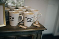 This Friends-Themed Bridal Shower Is Nuts (In The Best Way) #refinery29  http://www.refinery29.com/2016/05/110099/friends-themed-bridal-shower#slide-5  These adorable mugs made great souvenirs. ...