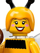 Series #10 - Bumblebee Girl