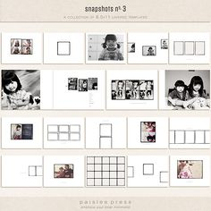 Photo book kit from Paislee Press
