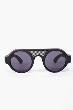 "They're a tad weird, but that's why I must have them | ""Circle the Mesh Shades"" $88"
