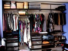 elfa wardrobe system - Google Search