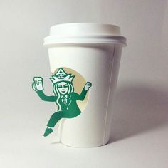Starbucks Art – The amazing and hilarious hijacked paper cups of Soo Min Kim | Notey