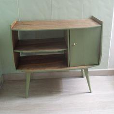 móvel pintado com tintas Miss mustard seed milk paint * lucketts green