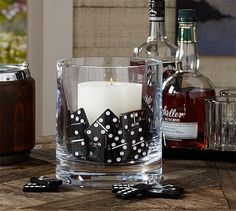 Decorating with Domino Vase Fillers Game Night Parties, Casino Night Party, Casino Theme Parties, Parties Kids, Mafia Party, Casino Royale, Havanna Party, Havanna Nights Party, Havana Nights Party Theme