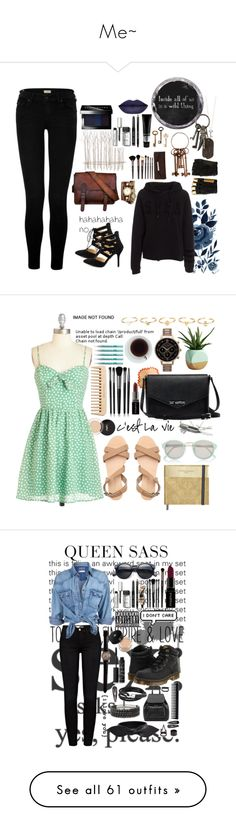 """Me~"" by nunn-sem-satiro on Polyvore featuring Shoe Republic LA, Fox, Bobbi Brown Cosmetics, TIGI, Diesel, Roberto Coin, AllSaints, Borghese, True Religion and La Mer"
