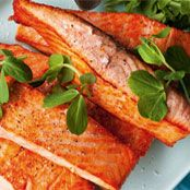 Barbecued salmon fillets with saffron & garlic aioli Recipe - Quick and easy at woolworths.com.au