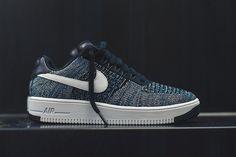 """Nike Air Force 1 Ultra Flyknit Low """"Obsidian & Star Blue"""" - EU Kicks: Sneaker Magazine"""