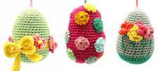 Horgolt tojás minta leírással a tökéletes húsvéti dekorációhoz - Sima kötés Crochet Hats, Beanie, Blog, Amigurumi, Knitting Hats, Beanies, Beret