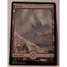 Wastes #183 X 4 -MTG Oath of the Gatewatch M/NM Magic The Gathering X 4 (.25each Listing in the Magic The Gathering,Film, TV & Fantasy,Trading Cards & CCGs,Collectables Category on eBid Canada | 149799970