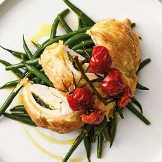 Jamie Oliver's Quick & Easy Flaky Pastry Pesto Chicken Recipe | Channel 4