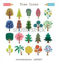 Find Vector Tree Stock Images In HD And Millions Of Other Royalty Free Photos Illustrations Vectors The Shutterstock Collection