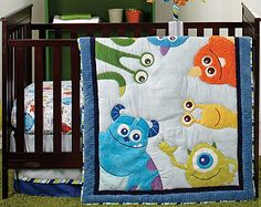 "Disney Baby - Monsters, Inc. 4 Piece Crib Set - Disney Baby - Babies ""R"" Us"