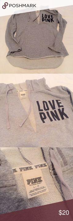 VS PINK pullover Comfy PINK pullover hoodie  PINK Victoria's Secret Tops Sweatshirts & Hoodies