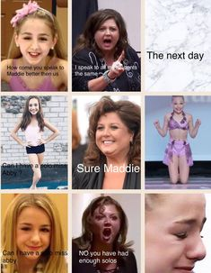 I think the reason Maddie gets solos is cuz she puts fourth the effort in dance ❤️ Funny Dance Quotes, Dance Moms Quotes, Dance Moms Funny, Dance Moms Facts, Dance Moms Dancers, Dance Mums, Dance Moms Girls, Memes Lol, Funny Mom Memes