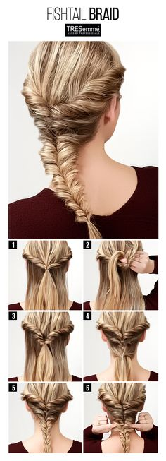 Tutorial Trenza Espiga – Fishtail Braid DIY #TRESemméPerú
