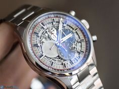 PuristSPro - One of the more silent additions at Baselworld was the Zenith El Primero Sport Skeleton . Silent because it did not come with the fanfare of a press releas Baselworld 2016, Skeleton, Hands, Sport, Accessories, Deporte, Sports, Skeletons, Jewelry Accessories
