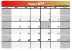 This time we give you 5 August 2019 calendar designs in the 2 most searched formats, jpg and calendar images in pdf format. The design of this calendar we made for you will hopefully be useful for you August Calendar, Blank Calendar, Printable Designs, Printables, Calendar Design, One Design, Mathematics, Social Media, Templates