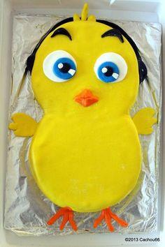 IMG_5822 Yellow Birthday, Tweety, Pikachu, Character, Baby Chicks, Lettering