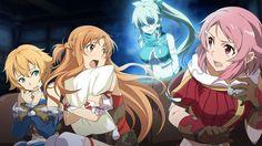 [Sword Art Online Hollow Realization]-Asuna,Lisbeth,Philia,Leafa!