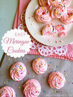 Lindsay Ann Bakes: Easy Meringue Cookies