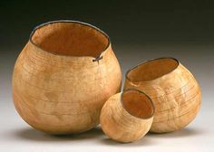 Sculptor and Wood Turner Christian Burchard presents sculptures, vessels, baskets, gourds and other wood turned artwork.