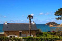 Ferienhaus Bretagne direkt am Meer Meerblick 2 Personen - 4 Personen