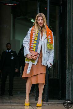 Paris Fashion Week Fall 2017 Street Style: Ada Kokosar