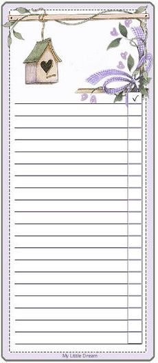 70 best Printable To do Lists, Shopping Lists and Note Paper images