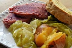 Corned Beef & Cabbage with homemade Irish soda Bread Happy ST. Patrick's Day Everyone … xXx …