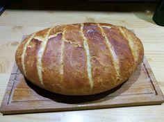 Házi kenyér jénaiban sütve! A friss, puha házi kenyérnél nincs is finomabb! Baking And Pastry, Baked Potato, Healthy Living, Bread, Cookies, Ethnic Recipes, Food, Crack Crackers, Healthy Life