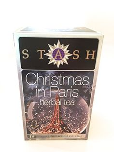 STASH TEA TEA CHRSTMS IN PARIS