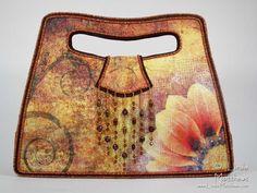 Daisy Art Bag: Inkjet Print on Fabric