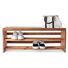 outdoor shoe rack