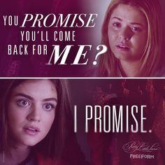 "S7 Ep4 ""Hit and Run, Run, Run"" - Will Aria keep her promise? #PrettyLittleLiars"
