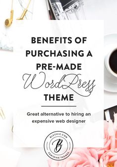As a small business owner, having a custom designed website for your business might not make sense for you to do at this point in time. We suggest purchasing a pre-made WordPress theme and describe the many benefits below.