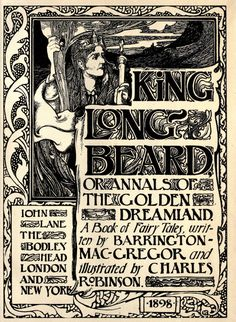 King Longbeard : or, annals of the golden dreamland, a book of fairy tales