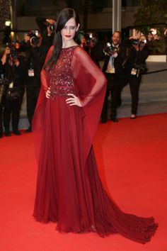 Eva Green in Elie Saab Haute Couture at Cannes day 4