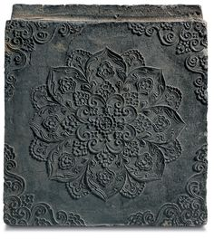 Brick with Floral Medallion Design.Gyeongju National Museum, Wolji, Gyeongju (South Korea)