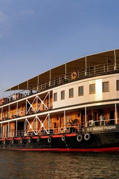 Explore two countries and centuries of history on this seven-night Mekong River cruise. #Jetsetter