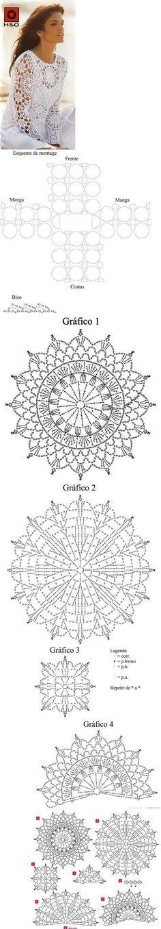 #crochet #pattern #patterns #knit #puntos #stitches