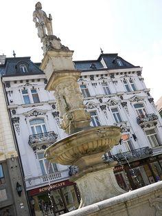 Maximilian Fountain, Bratislava, Slovakia ... Book Visit SLOVAKIA now via www.nemoholiday.com or as alternative you can use slovakia.superpobyt.com ... For more option visit holiday.superpobyt.com
