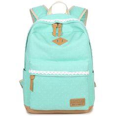 Xqxa Ethnic Women Backpack For School Teenagers Girls Vintage Stylish  Ladies Bag Backpack Female Dotted Printing High Quality. Cute Backpacks ... f2b12687aa