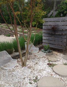 Jonathan Adler House garden - Buttercup Design Group
