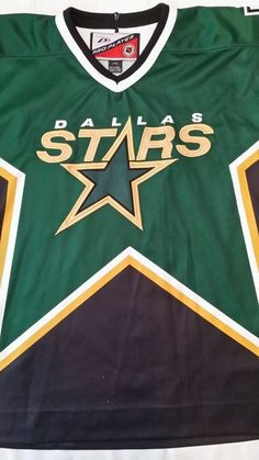 DALLAS STARS NHL HOCKEY JERSEY  Western Conference Large  PRO PLAYER  #ProPlayer #DallasStars