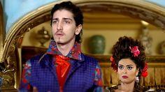 Brazilian soap opera Meu Pedacinho de Chão.  Characters Ferdinando and Catarina  Love the costumes and everything about this.