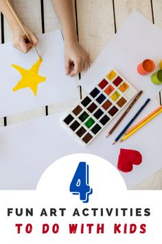 Here are some fun art activities that you can do with your toddler: #diy #diycraft #artproject #arttherapy #kidcraft #kidproject Projects For Kids, Art Projects, Crafts For Kids, Diy Crafts, Fun Art, Cool Art, Romare Bearden, Done With You, Baby Teethers
