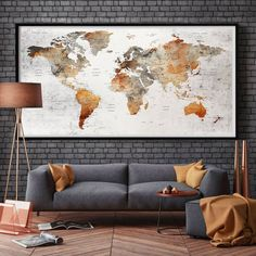 61 trendy living room art wall large world maps