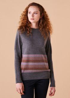 Isla Jumper Merino Wool - Paprika Merino Wool, Jumper, Women Wear, Style Inspiration, Pullover, Sweaters, How To Wear, Collection, Fashion