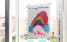 Arcoiris #yomequedoencasa Kids Room Design, Girl Rooms, Windows, Smile, Fur