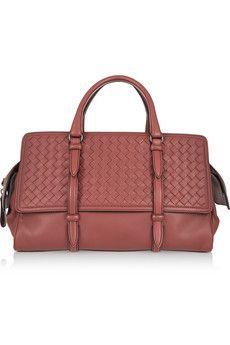 cde5170e94 Bottega Veneta - Monaco medium intrecciato leather tote